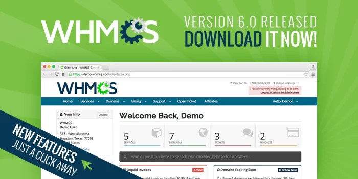 WHMCS 6.0 is here!