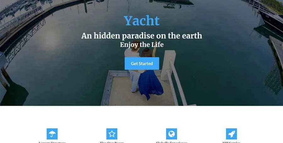 Added New Theme : Yacht