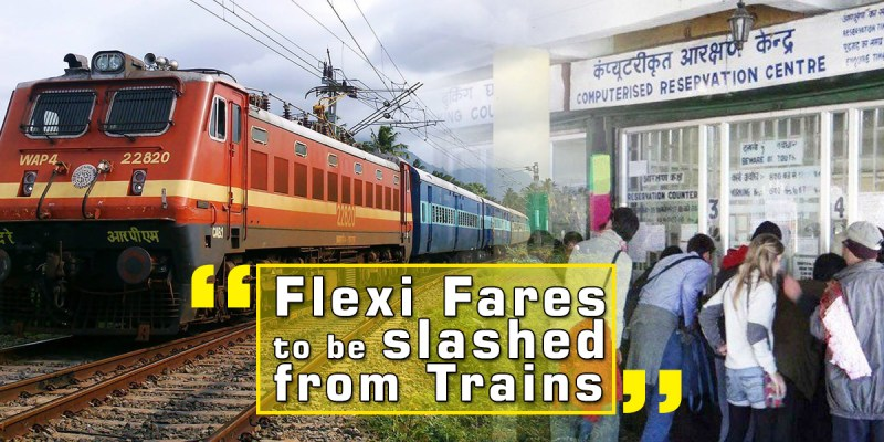 Flexi Fares to be removed from Trains