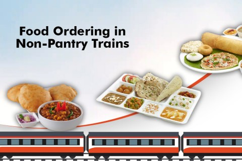 Traveling via non-pantry train? How to get fresh and tasty food in train!