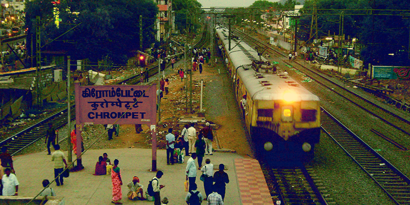 Chromepet railway station