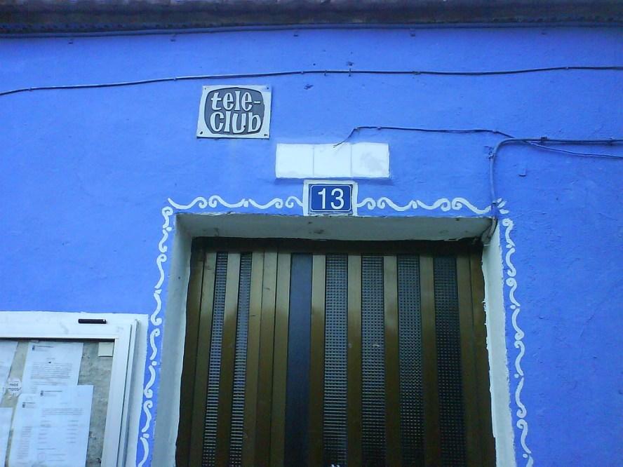 Tele-club un lugar que nos recuerda el pasado
