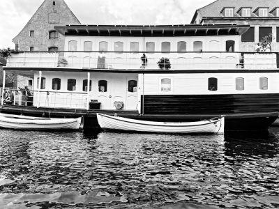 Schiff im Christianshavn Kanal