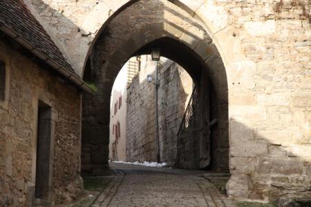 Das Kobolzeller Tor von Rothenburg