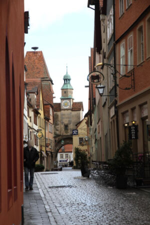 Gasse in Rothenburg