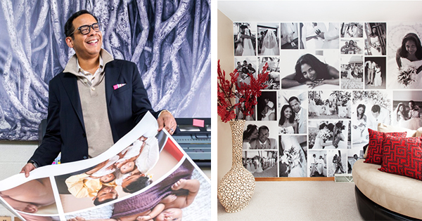Black-Owned Company Redefines Family Reunions — See Your Family Members Everyday on Your Walls!