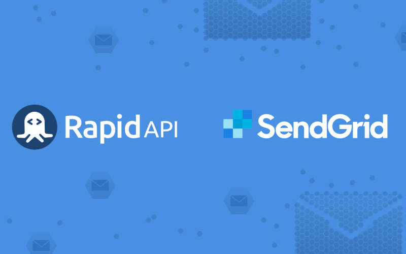 SendGrid API Joins the RapidAPI Marketplace