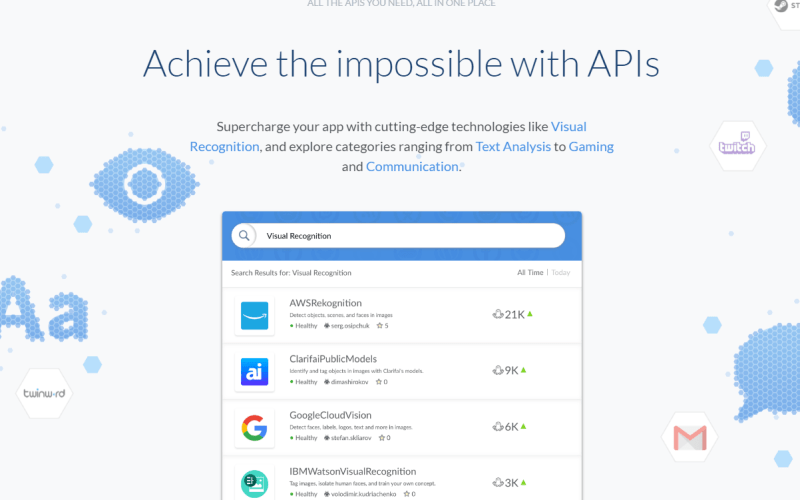 Achieve the impossible with APIs RapidAPI