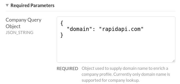 FullContact Company API