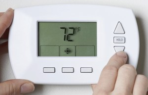 Adjust your Thermostat