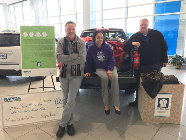 Rapid Chevy 7th Annual One Warm Coat Drive