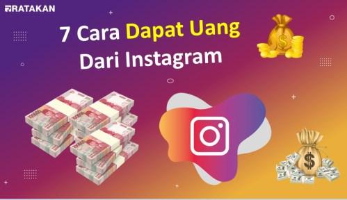 7 Cara Dapat Uang Dari Instagram