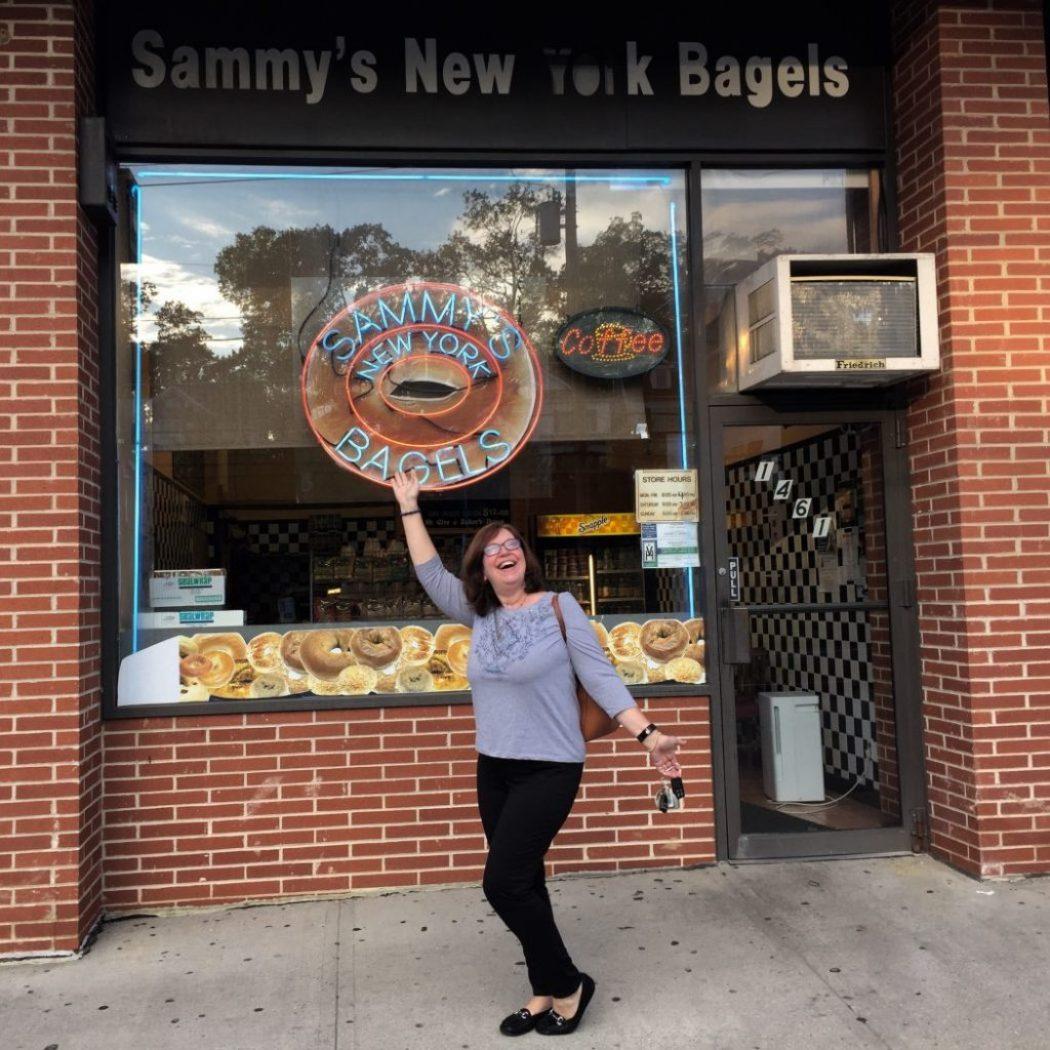 Bagel lecker bei Sammy's