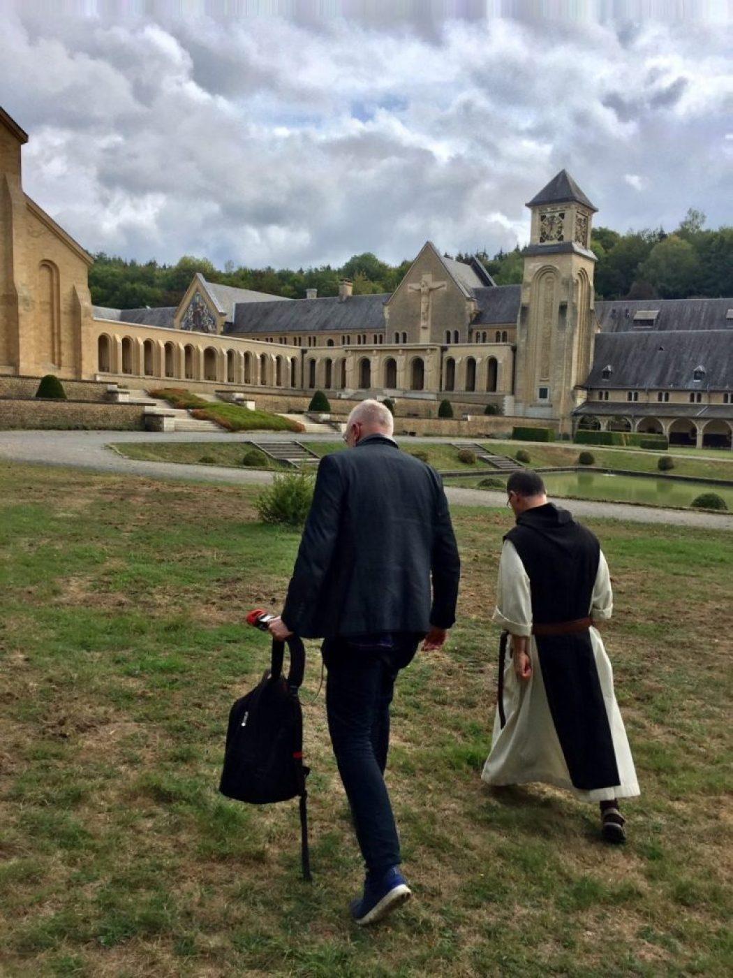kloster interview für radio luxemburg