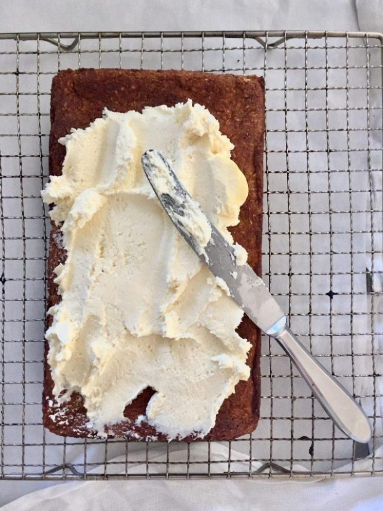 Lebkuchen mit Cream cheese Frosting