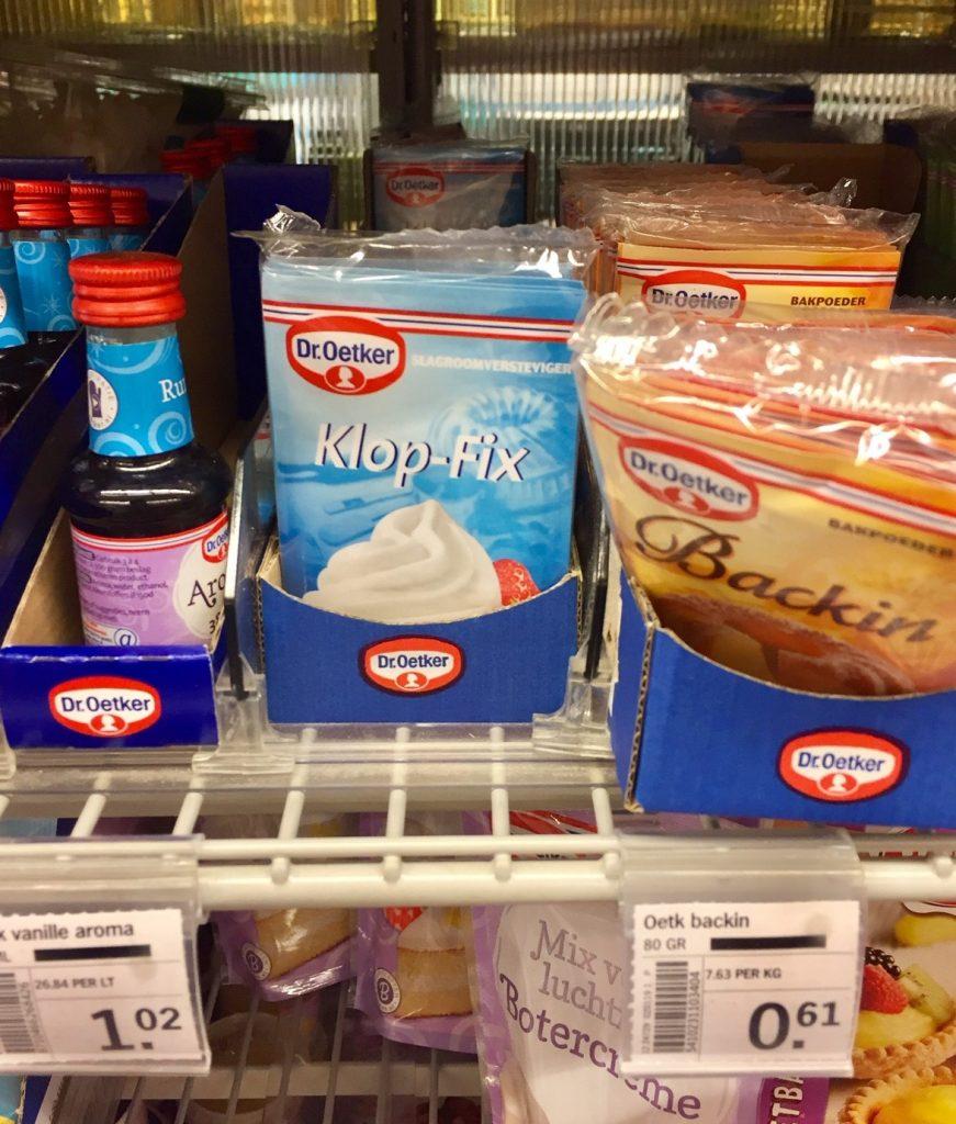 Shopping in Holland ist allein wegen der Sprache köstlich!