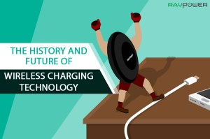 Cover Cartoon History and Future of Wireless Charging Technology