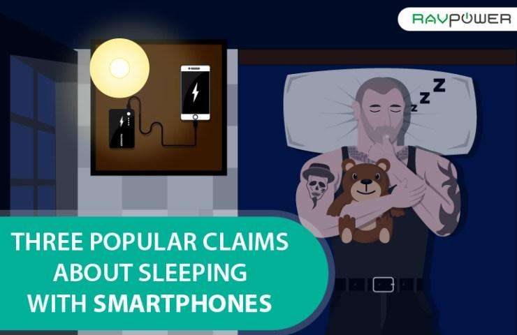 Sleeping Smartphone Cellphone Teddy Biker Fire Hazard Blue Light