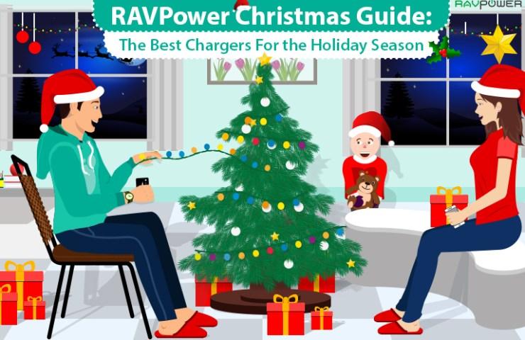 Christmas Gift Guide RAVPower Family Nintendo Switch RAVPower Solar Panel