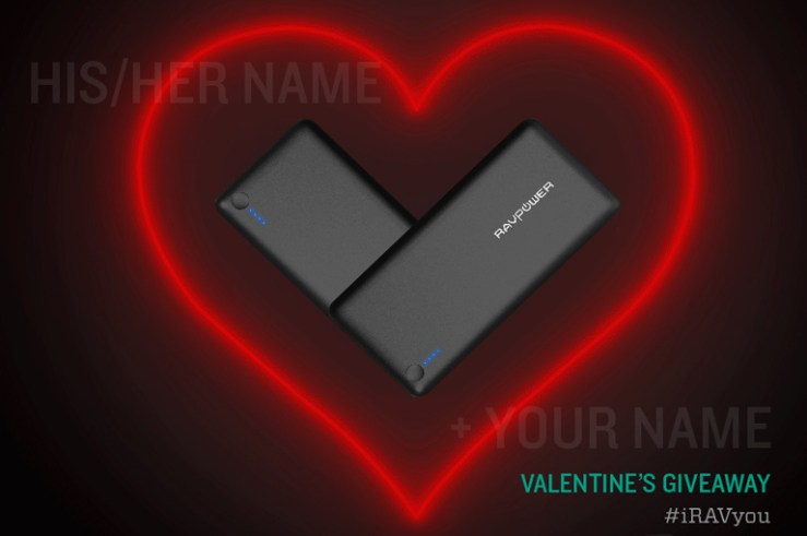 Blog Cover Valentine's Day Campaign RAVPower Content Giveaway