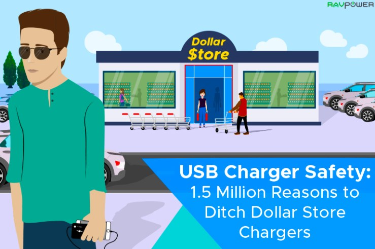 USB Charger Safety Dollar Store Chargers Protect Power Banks Are Dangerous Portable Chargers Flammable