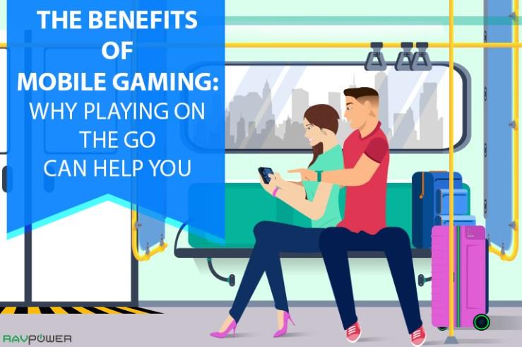 Gaming On The Go Benefits Subway Couple Smart Luggage Smart Suitcase Li-Ion RAVPower Blog Banner
