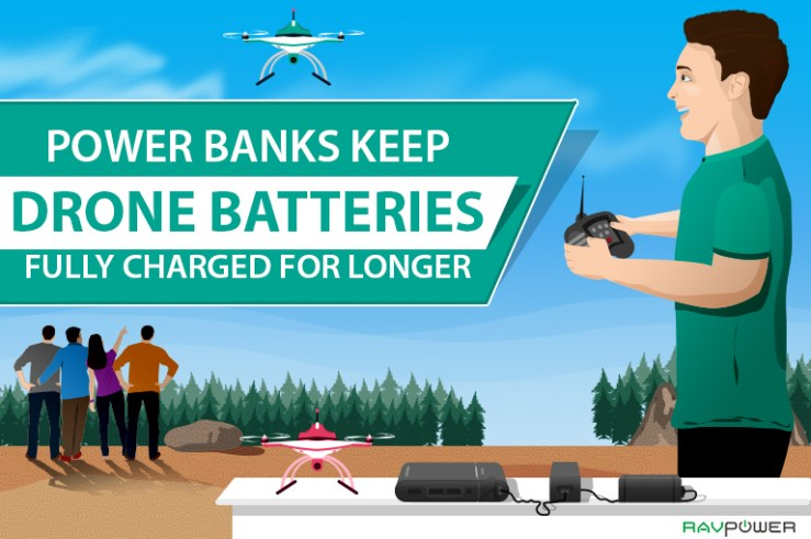 drone battery drone batteries power bank power banks RAVPower