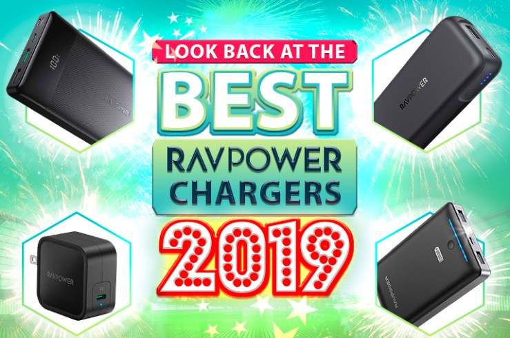 RAVPower chargers celebration