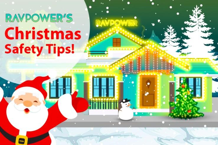 Santa House Christmas Lights