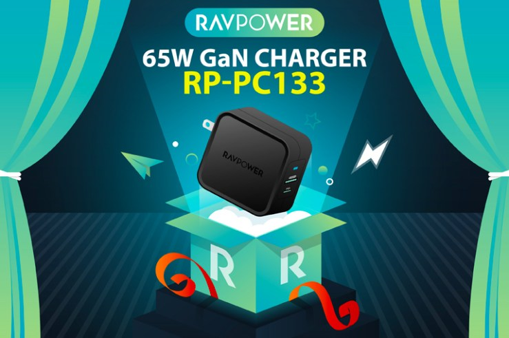 RAVPower RP-PC133 65W GaN charger