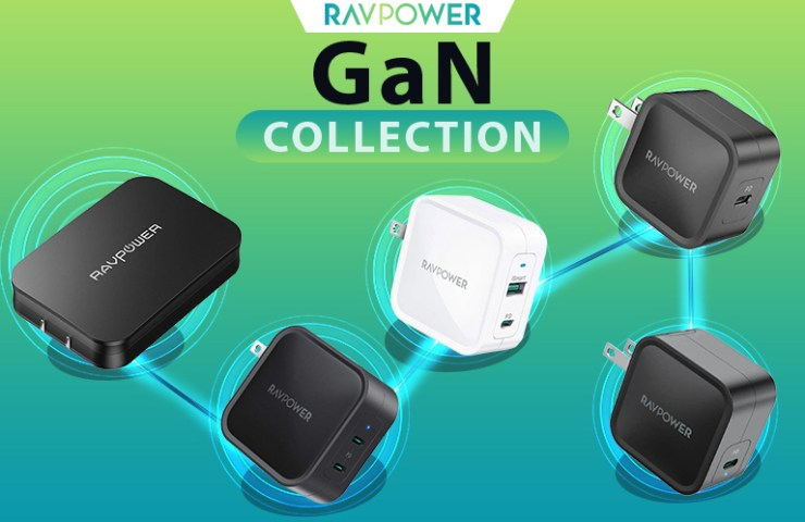 RAVPower GaN Chargers