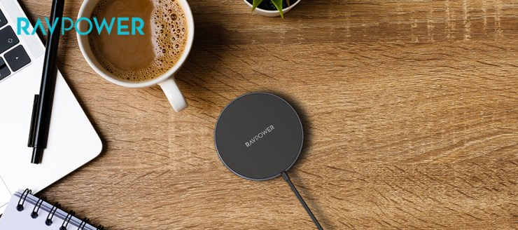 RAVPower Wireless Charger and Wall Charger Set: RP-WC012
