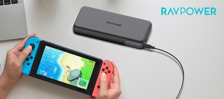 RP-PB201 Charging your gaming console Nintendo Switch