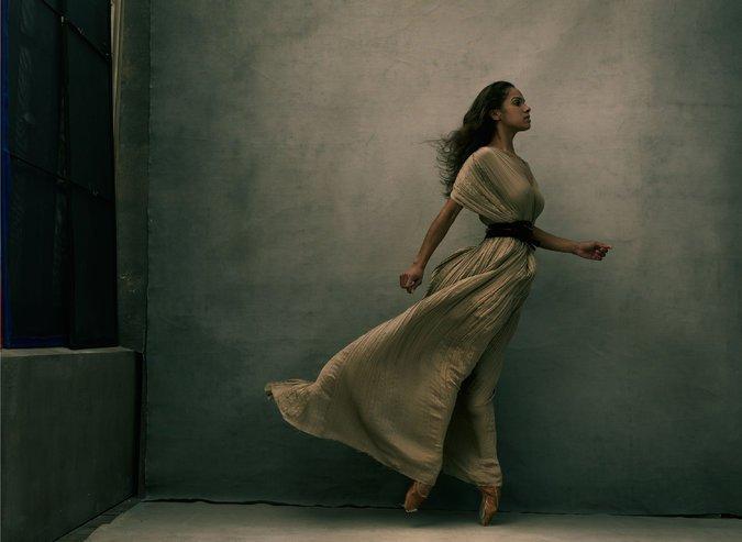 "Misty Copeland, New York City, 2015"" Credit Annie Leibovitz."