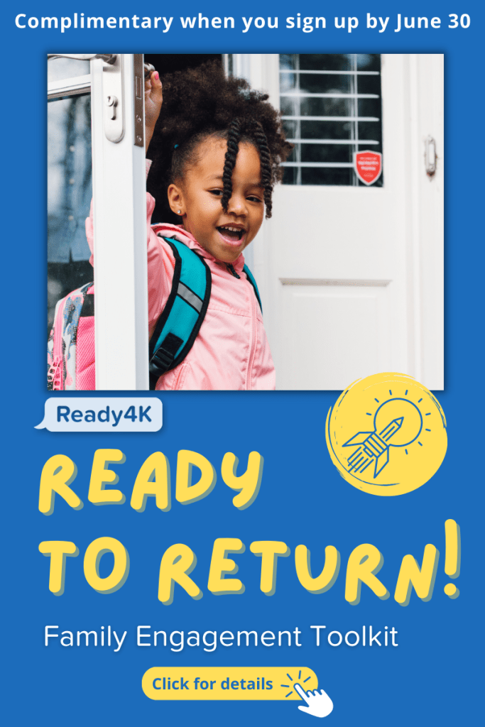Ready to Return complements any school plan, from reopening to back-to-school readiness