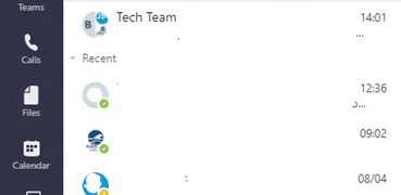 HOW TO: Pin important Chats in Microsoft Teams