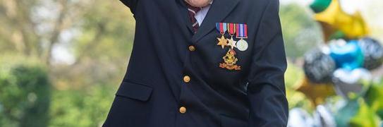 Happy Birthday Captain Tom!