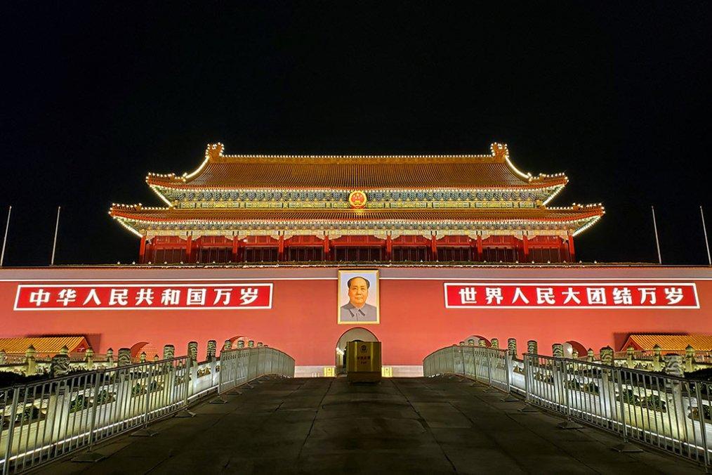 Does China pose a challenge to our liberal democracies? Tiananmen Square, China. Photo: Yang Yang (@mauriceyang). Elcano Blog