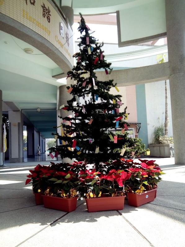 2013學校耶誕樹