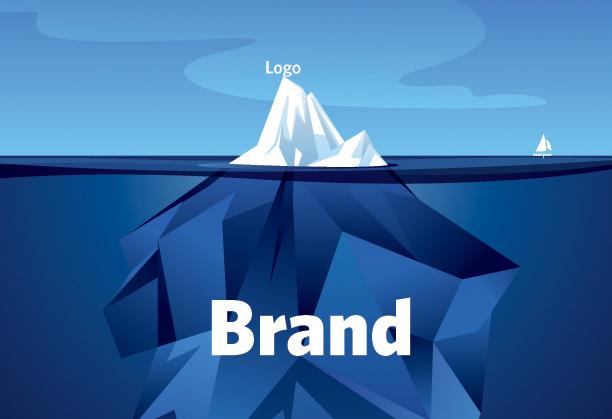 Logo Brand Iceberg