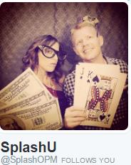 SplashOPM Twitter Bio