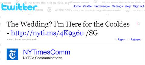 New York Times Bitly URL Shortener