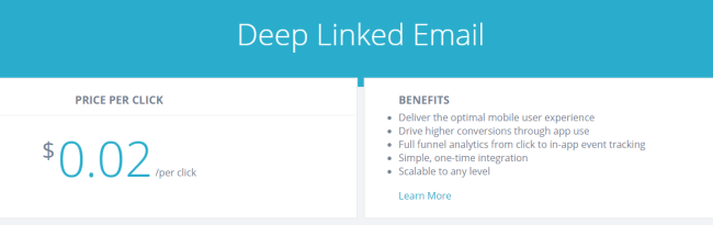 Branchio Depep Linked Email Pricing