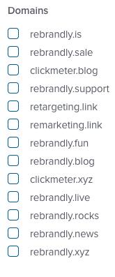 link management filter