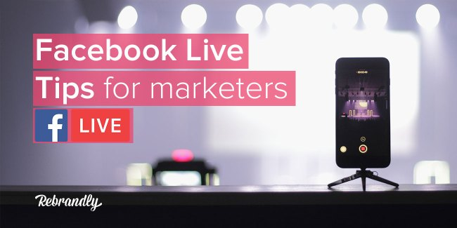 facebook live tips for marketers