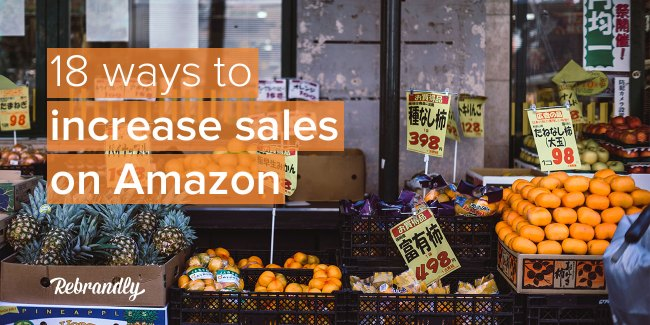 How to increase sales on amazon banner image