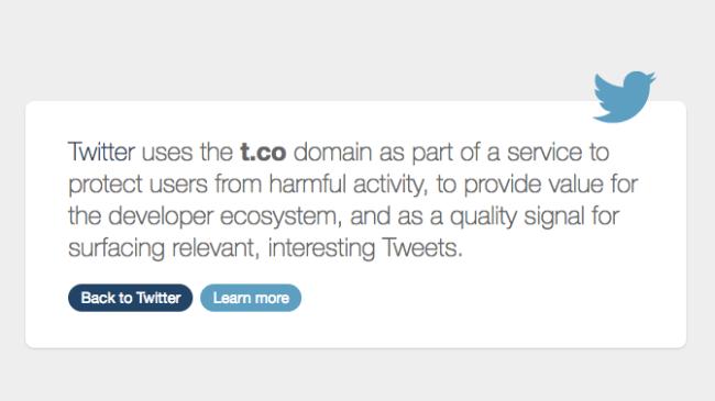 url shortening services twitter