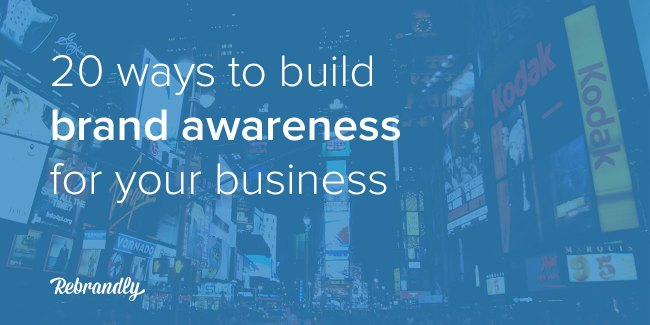 ways to build brand awareness banner image