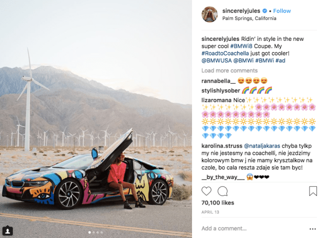 brand awareness campaign by bmw