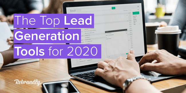Top Lead Generation Tools for 2020 Blog Banner Image